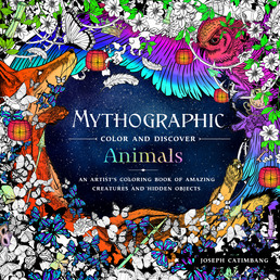 Mythographic Color and Discover: Animals Book Cover - Click to open Coming Soon panel