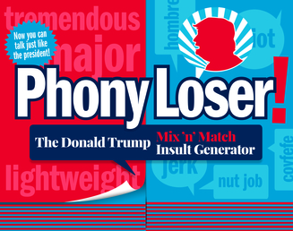 Phony Loser! Book Cover - Click to open Coming Soon panel