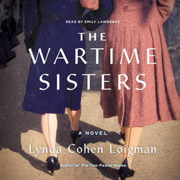 The Wartime Sisters Book Cover - Click to open Audiobooks panel