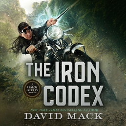 The Iron Codex Book Cover - Click to open Audiobooks panel