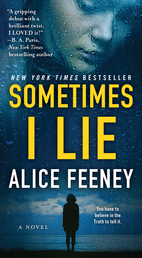 Sometimes I Lie Book Cover - Click to open Coming Soon panel
