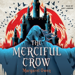 The Merciful Crow Book Cover - Click to open Young Listener panel