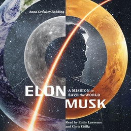 Elon Musk: A Mission to Save the World Book Cover - Click to open Young Listener panel