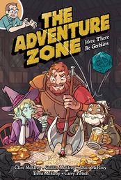 The Adventure Zone: Here There Be Gerblins Book Cover - Click to open :01 Collection panel