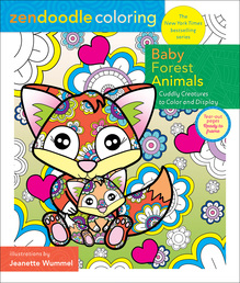 Zendoodle Coloring: Baby Forest Animals Book Cover - Click to open Top Sellers panel