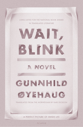 Wait, Blink Book Cover - Click to open New Releases panel