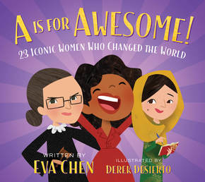 A Is for Awesome! Book Cover - Click to open Macmillan Kids panel