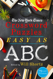 The New York Times Crossword Puzzles Easy as ABC Book Cover - Click to open Coming Soon panel
