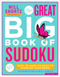 Will Shortz Presents The Great Big Book of Sudoku Volume 2 Book Cover - Click to open New Releases panel