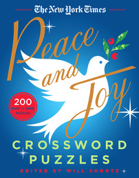 The New York Times Peace and Joy Crossword Puzzles Book Cover - Click to open New Releases panel