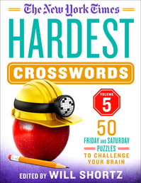 The New York Times Hardest Crosswords Volume 5 Book Cover - Click to open New Releases panel