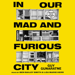 In Our Mad and Furious City Book Cover - Click to open Audiobooks panel