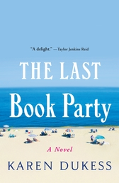 The Last Book Party Book Cover - Click to open Henry Holt panel