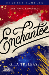 Enchantée: Chapter Sampler Book Cover - Click to open Coming Soon panel