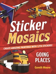 Sticker Mosaics: Going Places Book Cover - Click to open Top Sellers panel