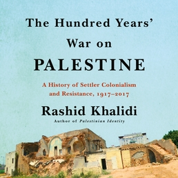 The Hundred Years' War on Palestine Book Cover - Click to open Audiobooks panel