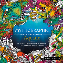 Mythographic Color and Discover: Aquatic Book Cover - Click to open Top Sellers panel