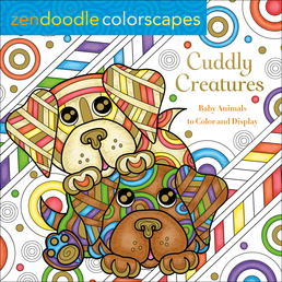 Zendoodle Colorscapes: Cuddly Creatures Book Cover - Click to open Coming Soon panel