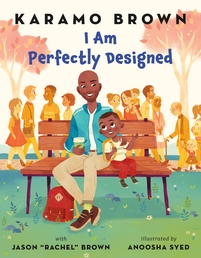 I Am Perfectly Designed Book Cover - Click to open Macmillan Kids panel