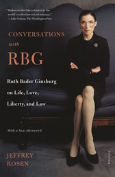 Conversations with RBG Book Cover - Click to open Henry Holt panel