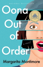 Oona Out of Order Book Cover - Click to open New Releases panel