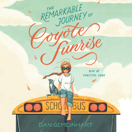 The Remarkable Journey of Coyote Sunrise Book Cover - Click to open Young Listener panel