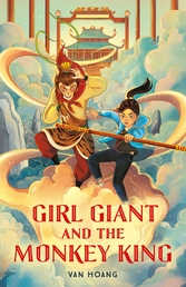 Girl Giant and the Monkey King Book Cover - Click to open Coming Soon panel
