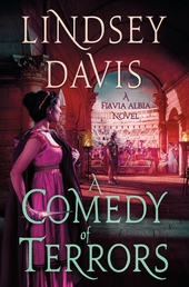 A Comedy of Terrors Book Cover - Click to open New Releases panel