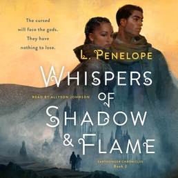 Whispers of Shadow & Flame Book Cover - Click to open Audiobooks panel