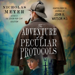 The Adventure of the Peculiar Protocols Book Cover - Click to open Audiobooks panel