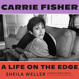 Carrie Fisher: A Life on the Edge Book Cover - Click to open Top Sellers panel