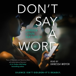 Don't Say a Word Book Cover - Click to open Young Listener panel