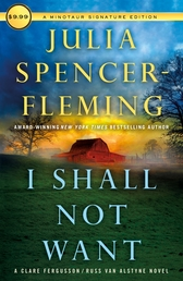 I Shall Not Want Book Cover - Click to open Coming Soon panel