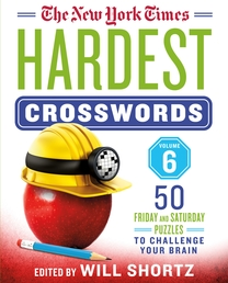 The New York Times Hardest Crosswords Volume 6 Book Cover - Click to open New Releases panel