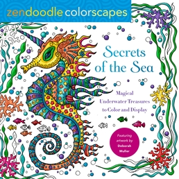 Zendoodle Colorscapes: Secrets of the Sea Book Cover - Click to open Top Sellers panel
