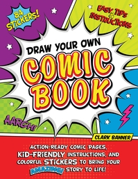 Draw Your Own Comic Book Book Cover - Click to open Coming Soon panel