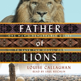 Father of Lions Book Cover - Click to open Audiobooks panel