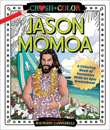 Crush and Color: Jason Momoa Book Cover - Click to open New Releases panel