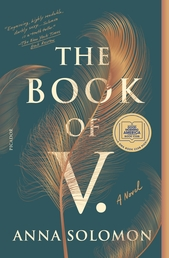 The Book of V. Book Cover - Click to open Henry Holt panel
