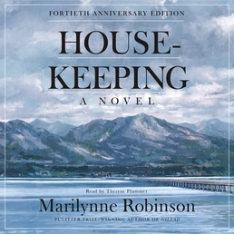 Housekeeping (Fortieth Anniversary Edition) Book Cover - Click to open Audiobooks panel