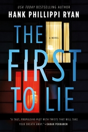 The First to Lie Book Cover - Click to open New Releases panel