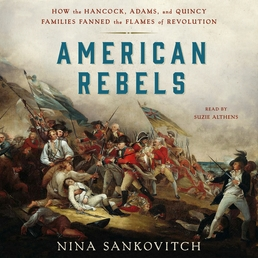 American Rebels Book Cover - Click to open Audiobooks panel