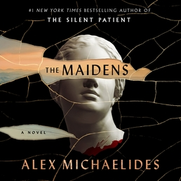 The Maidens Book Cover - Click to open Audiobooks panel