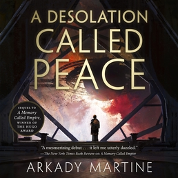 A Desolation Called Peace Book Cover - Click to open Audiobooks panel