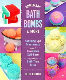 Homemade Bath Bombs & More Book Cover - Click to open New Releases panel