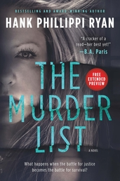 The Murder List Sneak Peek Book Cover - Click to open Coming Soon panel