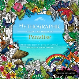 Mythographic Color & Discover: Paradise Book Cover - Click to open New Releases panel