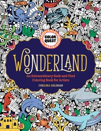 Color Quest: Wonderland Book Cover - Click to open Coming Soon panel