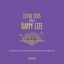 Little Lists for a Happy Life Book Cover - Click to open New Releases panel