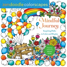 Zendoodle Colorscapes: Mindful Journey Book Cover - Click to open New Releases panel
